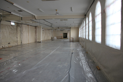 Removal of internal fit out